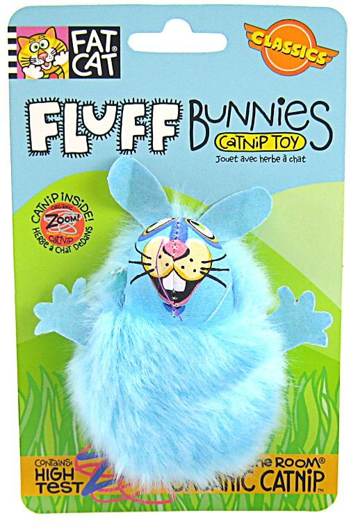 Fat Cat Fluff Bunnies Cat Toy - Assorted