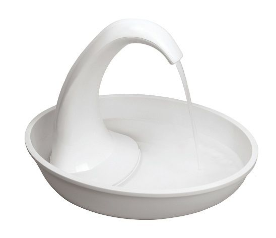 Pioneer Pet Swan Drinking Fountain - Plastic